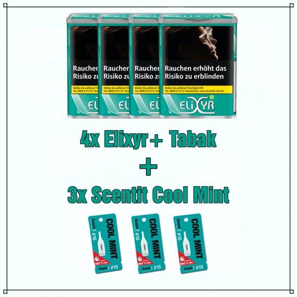 Elixyr+ x Scentit Menthol Aktionspaket (Scentit Cool Mint)