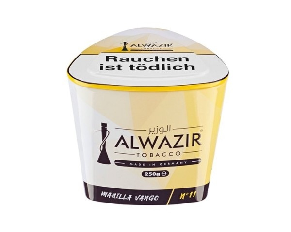 Alwazir Tobacco 250g - No. 11 Manilla Vango