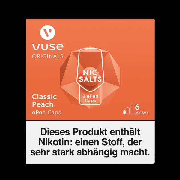 Vuse ePen Caps - Classic Peach