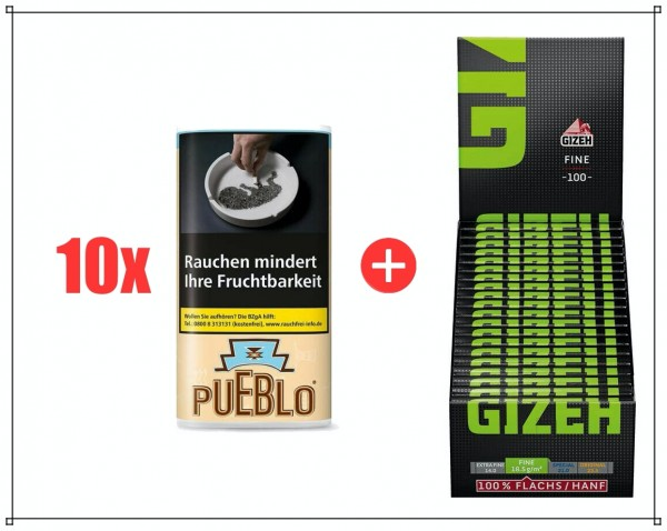 Pueblo + Gizeh SPEZIALANGEBOT