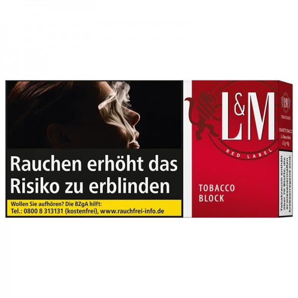 L&M Block Red Tabak