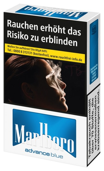Marlboro Advance Blue (Restbestand)