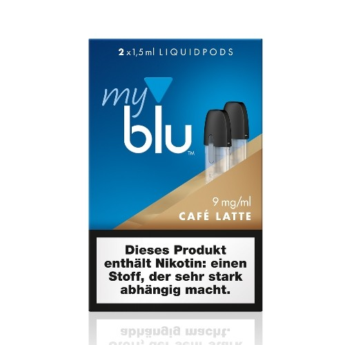 Myblu Café Latte Liquidpod 9mg