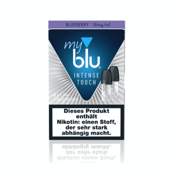 Myblu Intense Touch Blueberry (18mg/ml)