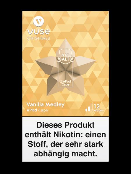 Vuse ePod Caps Vanilla Medley