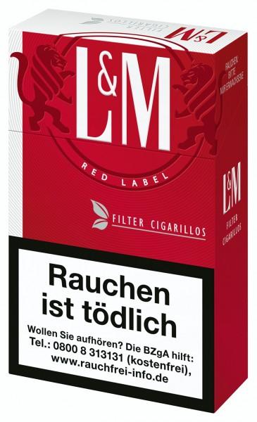 L&M Red Filterzigarillos