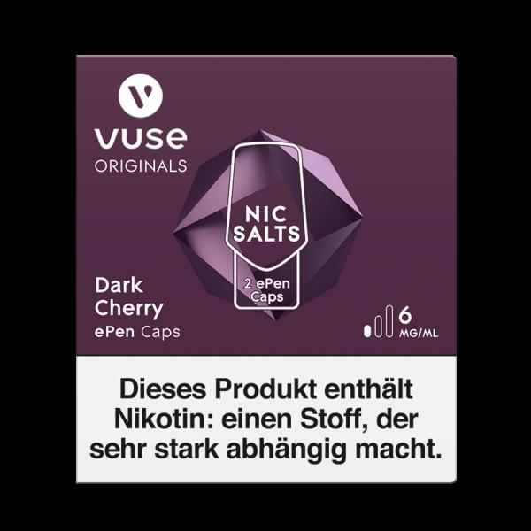 Vuse ePen Caps - Dark Cherry