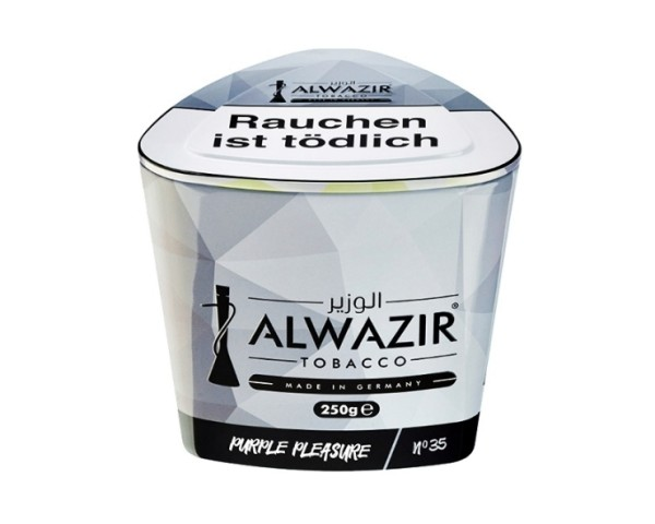 Alwazir Tobacco 250g - No. 35 Purple Pleasure