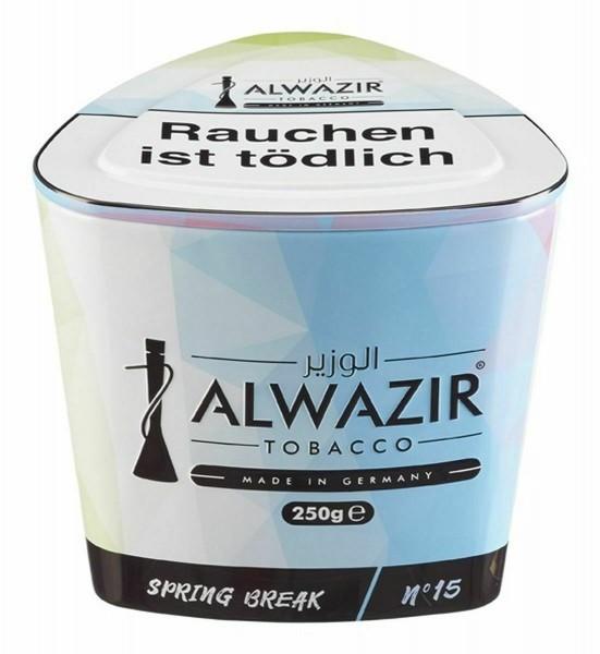 Al Wazir Tobacco 250g - No. 15 Spring Break