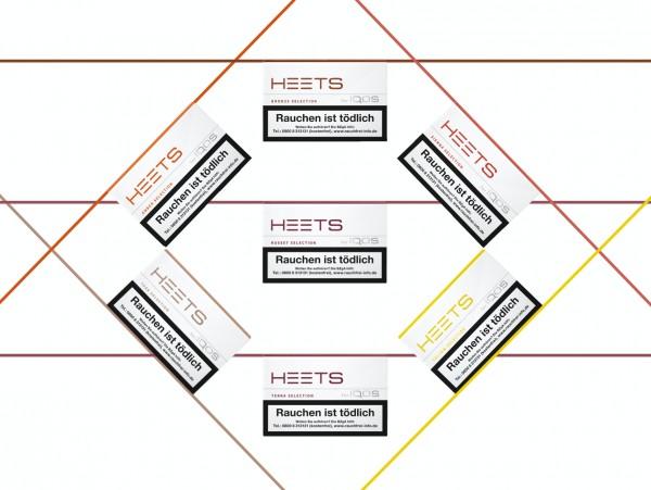 HEETS Tabaksticks Probierpaket