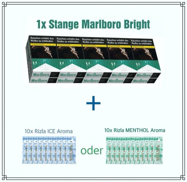Marlboro Bright x Rizla Menthol Aktionspaket