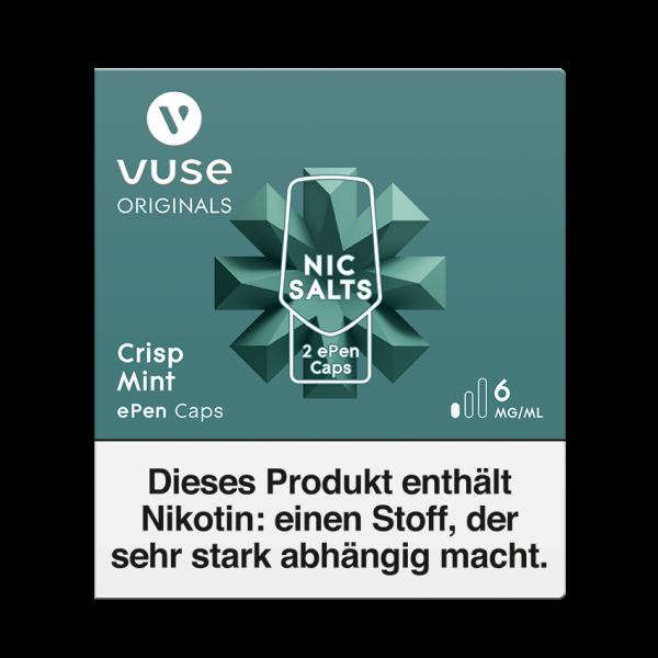 Vuse ePen Caps - Crisp Mint