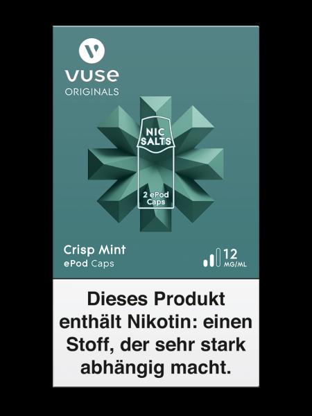 Vuse ePod Caps Crisp Mint