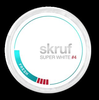 skruf Fresh Super White #4