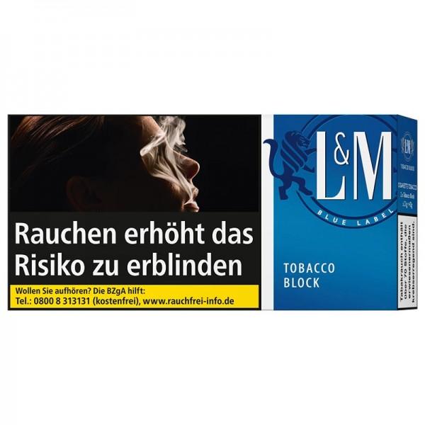 L&M Block Blue Tabak