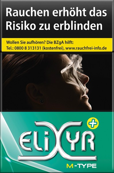 Elixyr Green Original Pack Zigaretten Plus+