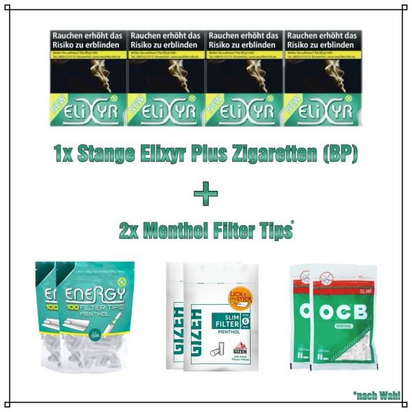 Elixyr+ Green Menthol Aktionspaket (Big Pack)