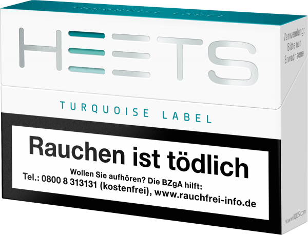 IQOS Heets Turquoise Label