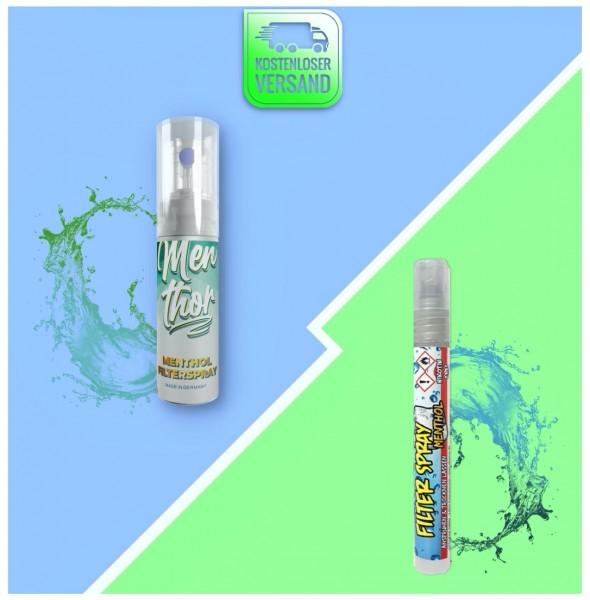 Menthol Filter Spray Probierpaket