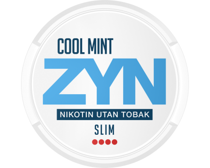 Zyn Slim Cool Mint Extra Strong Nicotine Pouches