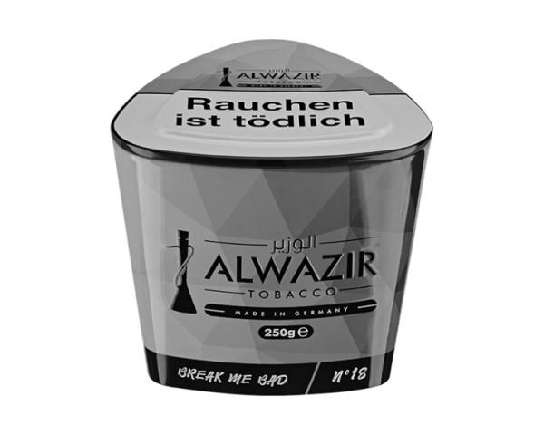 Alwazir Tobacco 250g - No. 18 Break Me Bad