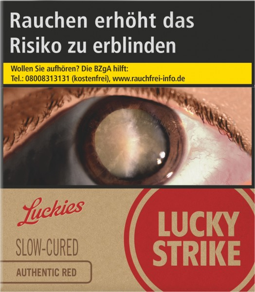 Lucky Strike Authentic Red GIGA