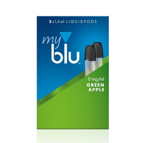Myblu Green Apple Liquidpod 0mg