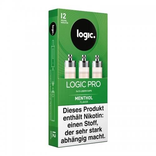 Logic Pro Caps Menthol 12mg