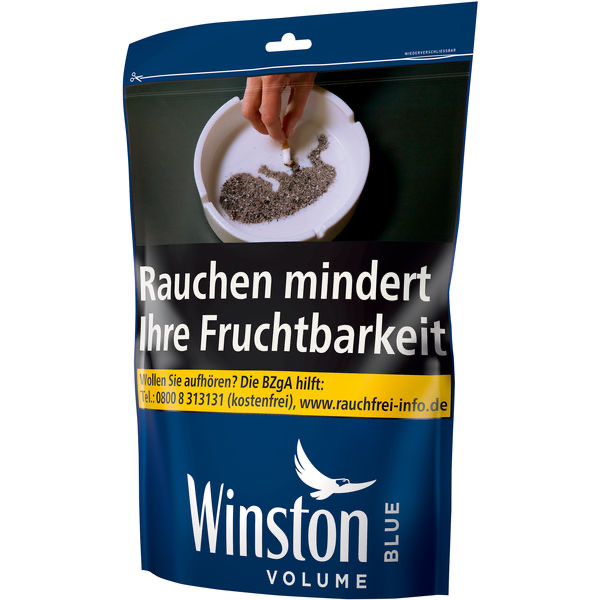 Winston Volumen Tobacco Blue