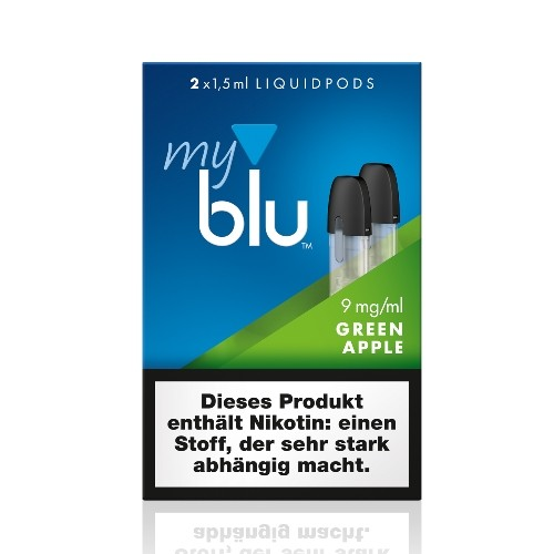 Myblu Green Apple Liquidpod 9mg