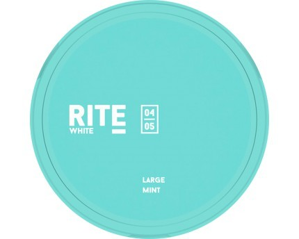 RITE Mint Large White