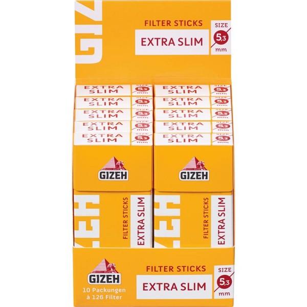 Gizeh Filter Sticks Extra Slim 5,3mm