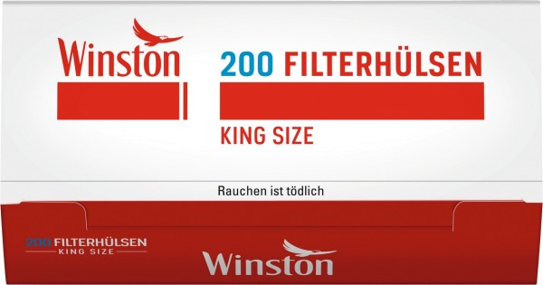 Winston King Size Hülsen