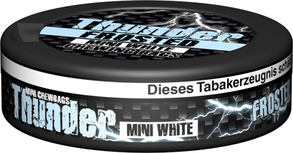 Thunder Frosted MINI White Dry