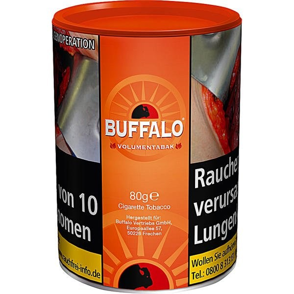 Buffalo Red Full Volumentabak Dose