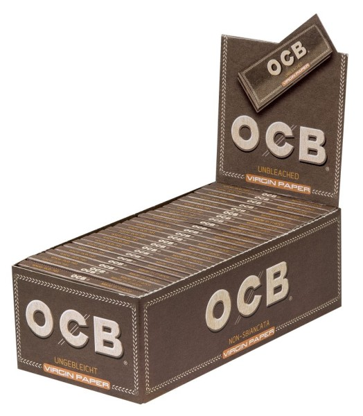 OCB UNBLEACHED 50 BLATT VIRGIN PAPER
