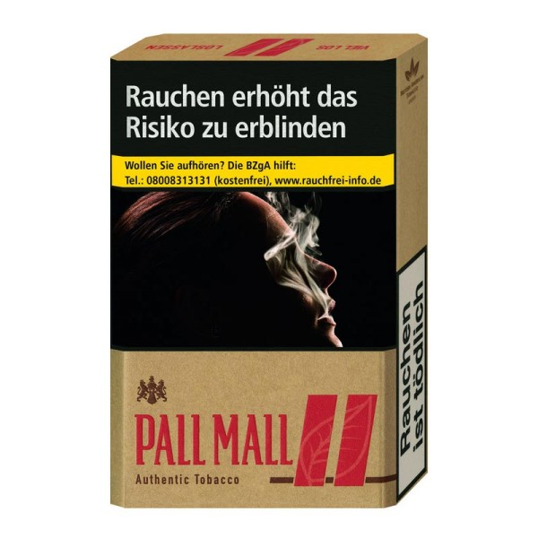 Pall Mall Authentic Red