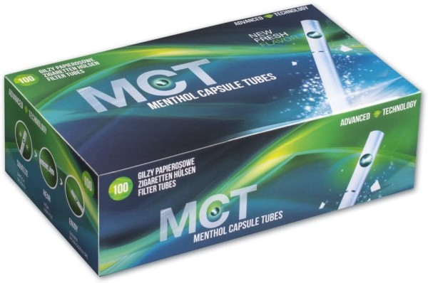 MCT Mentholhülsen (Click)