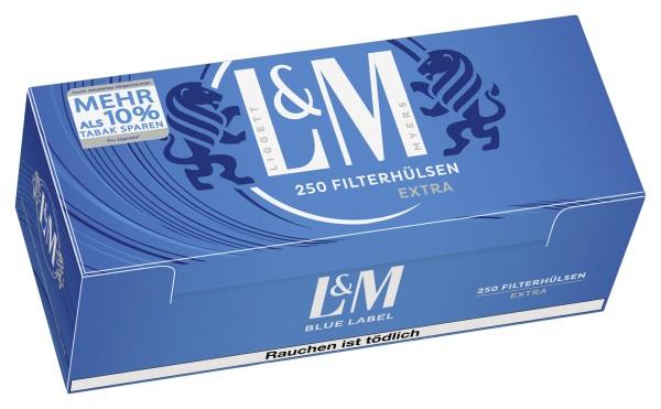 Hülsen L&M Blue Extra