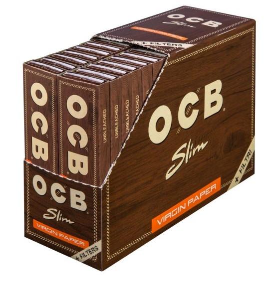 OCB Unbleached Long Slim + Tips