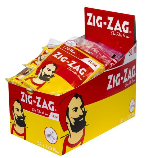 ZIG-ZAG SPEZIAL DREHFILTER SLIM 6 MM