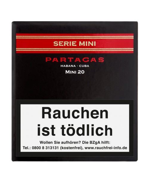 Partagas Serie Mini 20