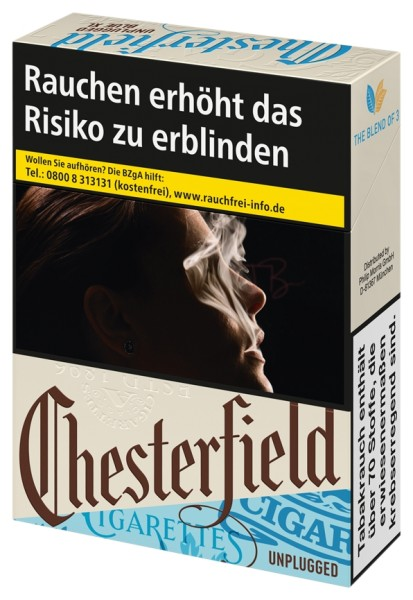 Chesterfield Unplugged Blue XL