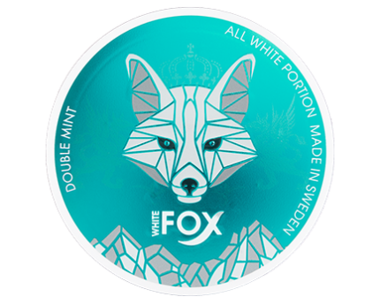 White Fox Green Double Mint