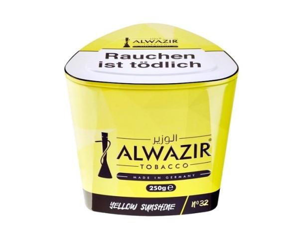 Alwazir Tobacco 250g - No. 32 Yellow Sunshine