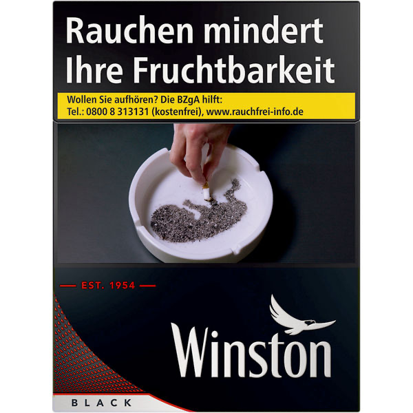 Winston Black XL