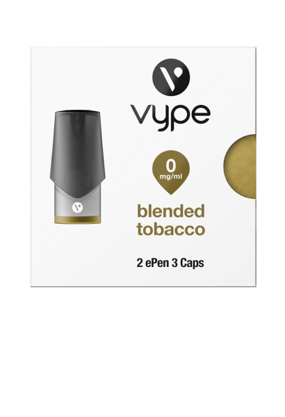 Vype pro ePen 3 Caps Blended Tobacco 0mg