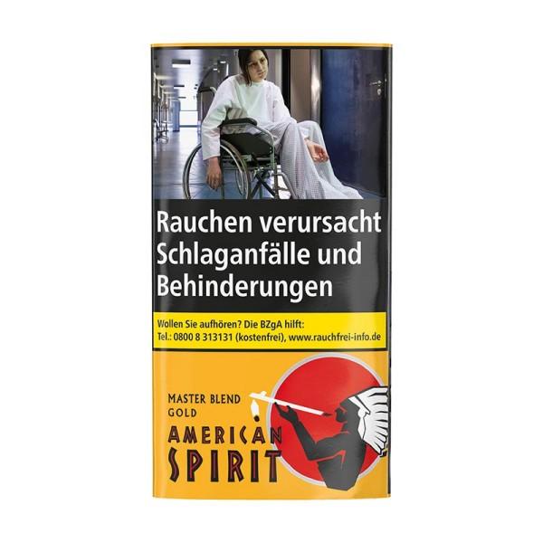 American Spirit Master Blend Gold Tabak(Organic Blend)