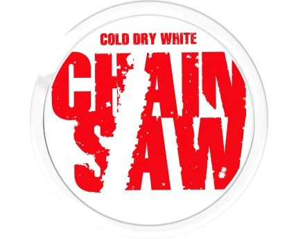 Chainsaw Cold White Dry Chewing Bags