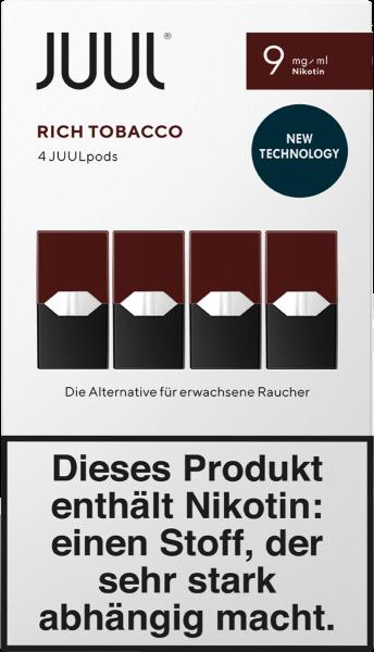 JUUL Pods Rich Tobacco (9mg/ml)
